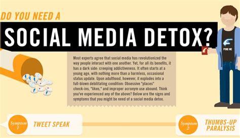 Detox Social Media by Infograf 237 A Muestra Si Necesitas Desintoxicarte De Las