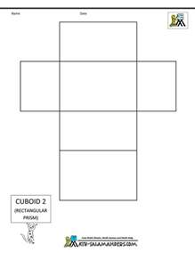 rectangle box template 3d rectangle box 3d rectangle template 3d lesson
