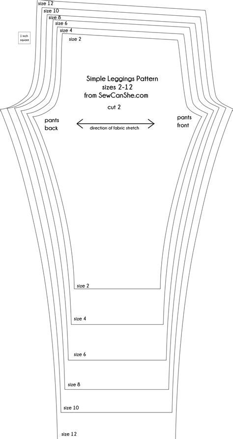 leggings pattern measurements basic leggings for girls free pattern and tutorial