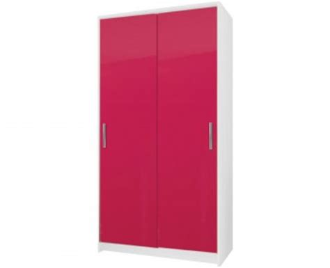 Pink Wardrobe by Kati Pink Single Dressing Table Black Or White Base
