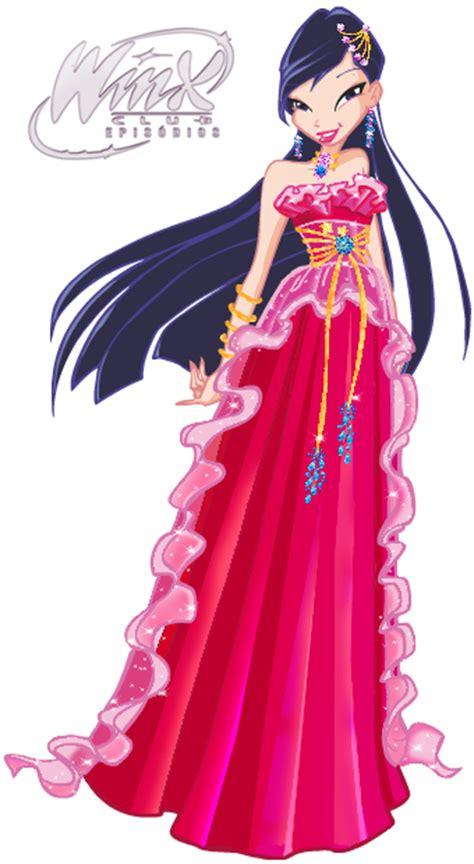 Longdress Melony vestido de baile da 3 170 temporada png s winx club epis 243 dios