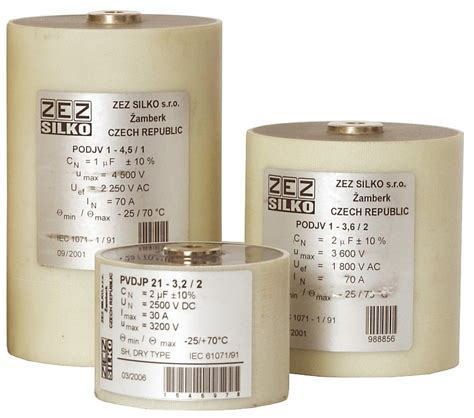cylindrical snubber capacitors snubber capacitors for igbt cylindrical cases zez silko