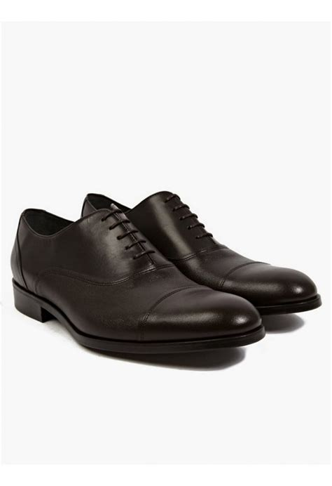 lanvin oxford shoes lanvin s brown leather oxford shoes in black for