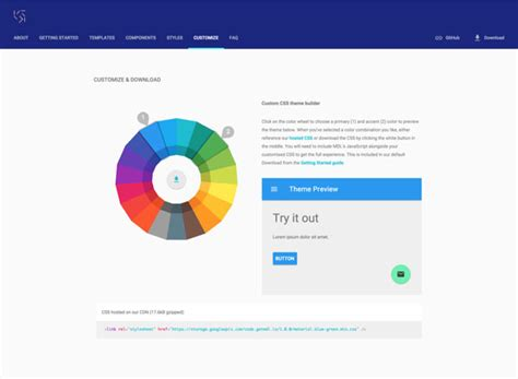 google design lite material design lite a giant library of web components