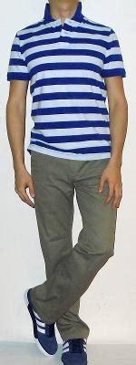 Tas Polos Kanvas Striped Khaki khaki s fashion for less
