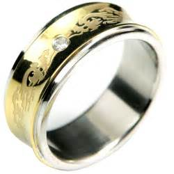 stainless steel rings for stainless steel gold zirconia band ring rings