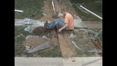 Atlantic Drain ~ howto CORE DRILL curb hole ~ Install
