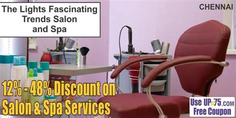 salon coupons chennai the lights fascinating trends salon and spa perambur