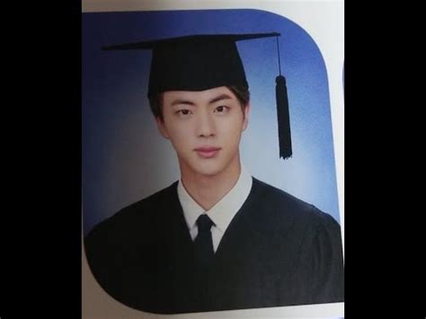 bts university bts jin graduated from konkuk university youtube