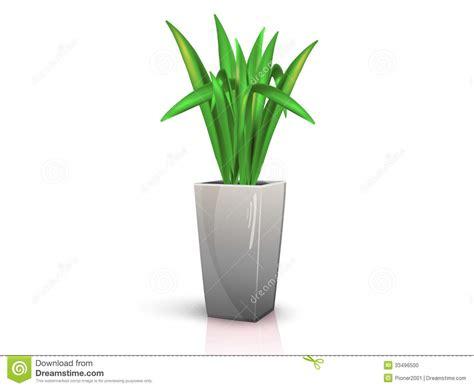 Grey Vase With Flowers Grey Vase With Flower Stock Photo Image 33496500