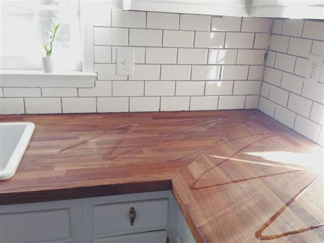Protecting Butcher Block Countertops by How To Protect A Butcher Block Countertop Yankee Roots