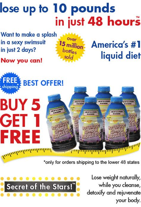 48hr Rapid Detox Results by Title 48 Hour Miracle Diet Buy 5 Get 1 Free
