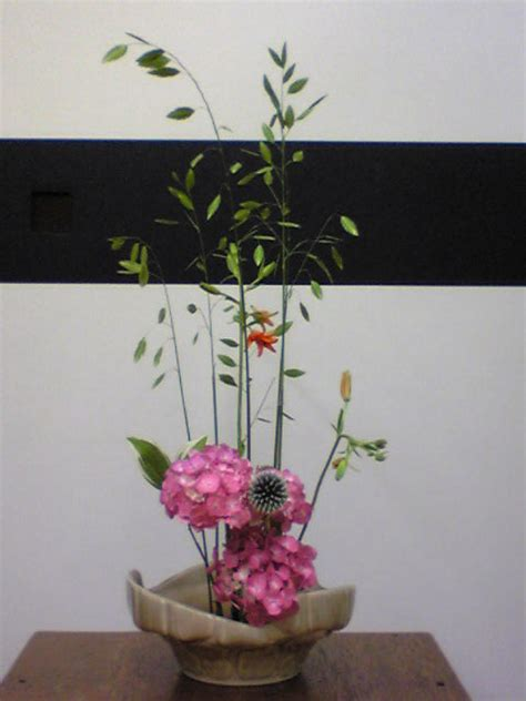 Japanese Decorative Of Flower Arrangement by Ikenobo Style Flower Arrangement The Kyoto Project