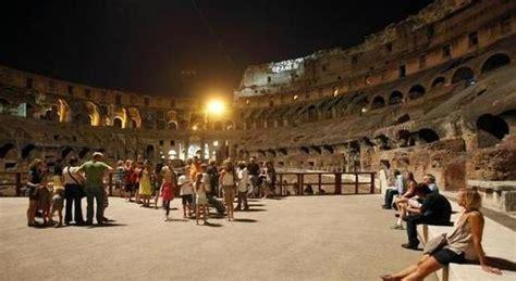ingressi colosseo colosseo c 232 l accordo l anfiteatro flavio sabato notte