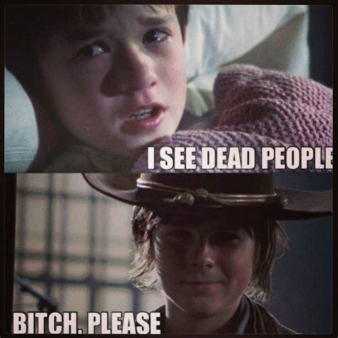 Carl Walking Dead Meme - walking dead carl meme