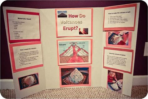 lava l science fair project science fair projects volcanoes google search pinteres