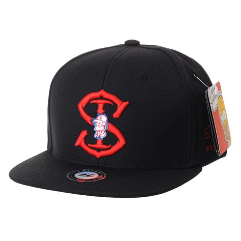 Simpsons Newest Must Accessory Baseball Caps by Withmoons The Simpsons Baseball Cap Homer Snapback