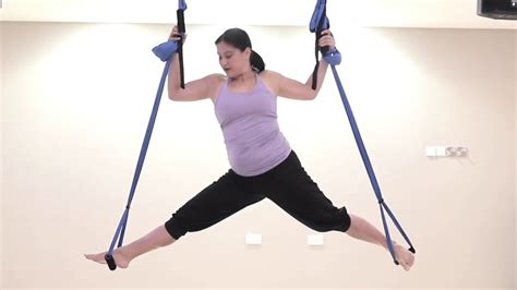 swinging yoga swing yoga at fitness first middle east youtube