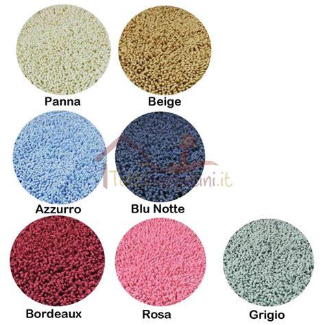 tappeti ciniglia tappeto bagno ciniglia antiscivolo tuttitappetini