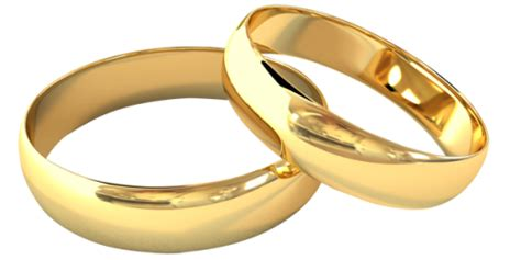 Satu Pasang Cincin Pernikahan Cincin digital print