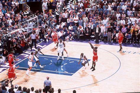 michael jordan 1998 nba finals june 14 1998 bulls beat jazz for double triple victory