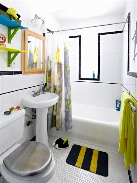 Boy And Bathroom Ideas Boys Skateboard Style Bathroom Diy