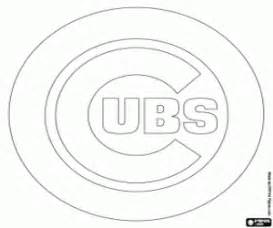 chicago cubs coloring pages mlb logos coloring pages printable
