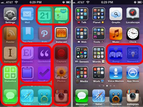 cool iphone layout ideas how to arrange your iphone home screen to get things done