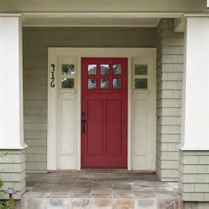 entry door colors crimson front door color of the month november 2015 scarlet sage this old house