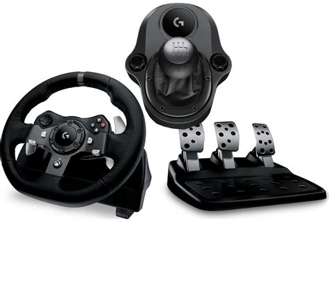 volante logitech driving buy logitech driving g920 wheel gearstick bundle