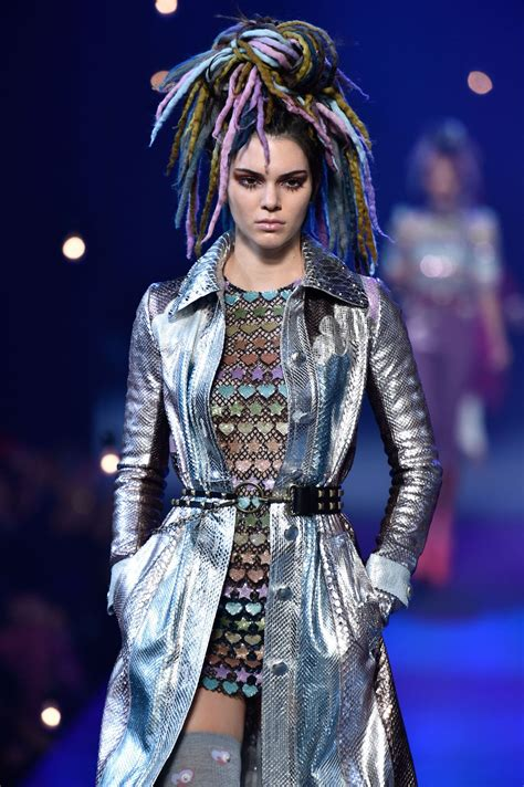 New Fashion Show by Kendall Jenner At Marc Runway Show At New York