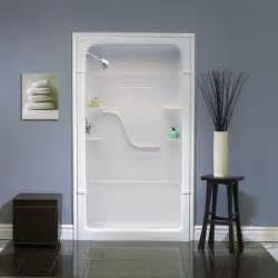 mirolin 48 inch 3 acrylic shower stall the