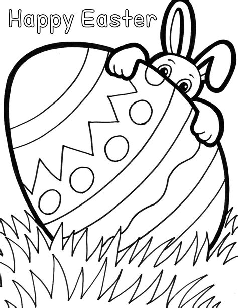 Printable Easter Coloring Sheets Easter Coloring Pages For