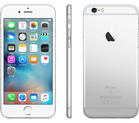 Iphone 6s 16 Gb Silver buy apple iphone 6s 16 gb silver free delivery currys