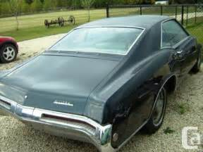 Buick Parts Canada Obo 1968 Buick Riviera Parts Car For Sale In Winnipeg