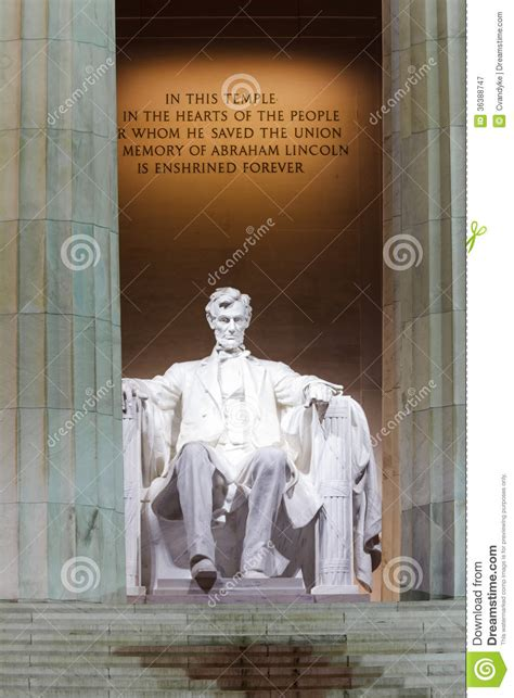 where is the lincoln memorial located in washington dc lincoln memorial statue washington dc royalty free stock