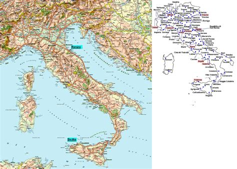 printable road map italy maps of italy map library maps of the world