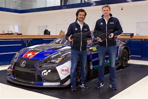 lexus racing team emil frey racing offizielle er 246 ffnung des neuen workshops