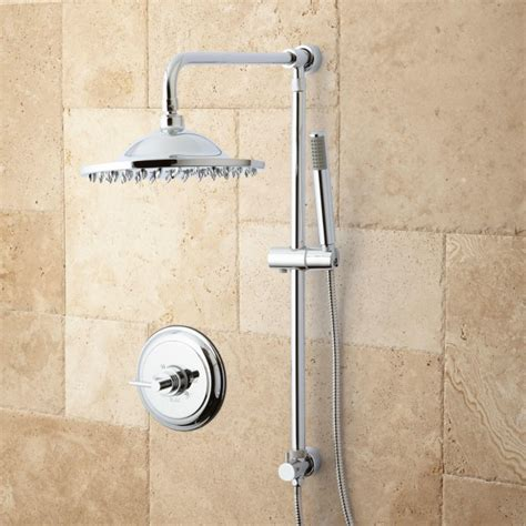 Bath Shower Systems Bostonian Rainfall Nozzle Shower System Hand Shower