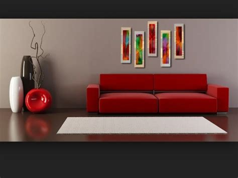 gray walls red couch red couch gray walls home pinterest