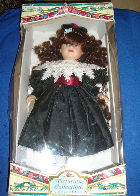 collection porcelain doll 76867 two collection porcelain dolls by