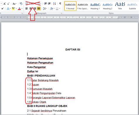 cara membuat nomor halaman karya tulis cara membuat halaman daftar isi lebih rapi di microsoft