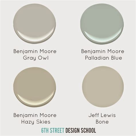 paint colors i ve used and loved house of jade interiors