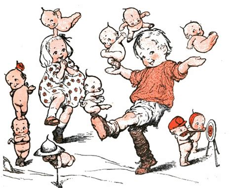 kewpie illustrations forgotten illustrations kewpie dolls kewpies