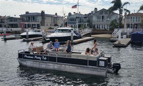 pontoon boats newport beach hot tub pontoon boat charter pontoon party tub