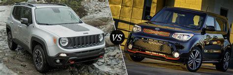 jeep kia 2016 2016 jeep renegade vs 2016 kia soul