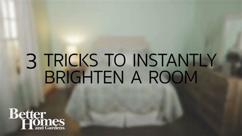 tricks  instantly brighten  dark room youtube