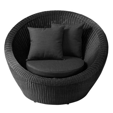 fauteuil de jardin en r 233 sine tress 233 e cendre porto