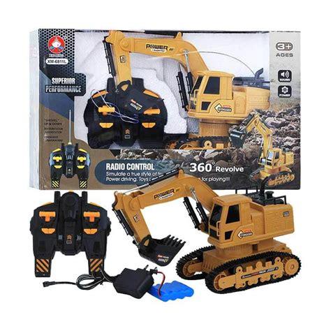 Harga Rc Excavator Di Indonesia mainan anak excavator dhian toys