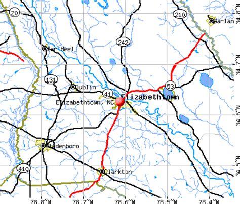 elizabethtown, north carolina (nc 28337) profile